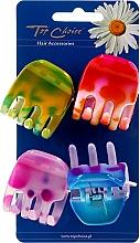 Düfte, Parfümerie und Kosmetik Haarklammern 24801 4 St. - Top Choice