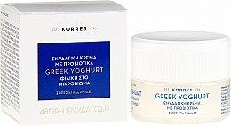 Düfte, Parfümerie und Kosmetik Feuchtigkeitsspendende Gesichtscreme mit Joghurt, Hyaluronsäure und Algen - Korres Greek Yoghurt Probiotic Moisturiser Intense