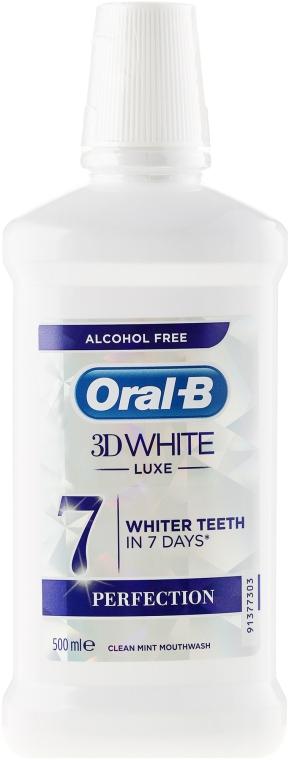 Mundwasser - Oral-b 3D White Luxe Perfection