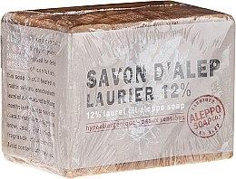 Düfte, Parfümerie und Kosmetik Aleppo-Seife mit Lorbeeröl 12% - Tade Aleppo Laurel 12% Soap 12%