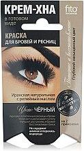 Düfte, Parfümerie und Kosmetik Henna-Creme für Augenbrauen und Wimpern