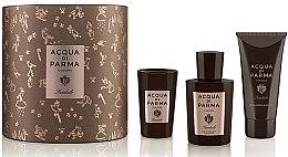 Düfte, Parfümerie und Kosmetik Acqua di Parma Colonia Sandalo - Duftset (Eau de Cologne 100ml + Duschgel 75ml + Duftkerze 65g)