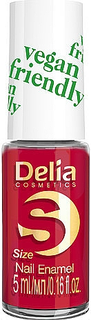 Nagellack - Delia Cosmetics S-Size Vegan Friendly Nail Enamel