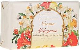 Düfte, Parfümerie und Kosmetik Naturseife Narcissus & Pomegranate - Saponificio Artigianale Fiorentino Narcissus & Pomegranate Soap
