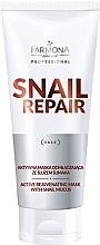 Düfte, Parfümerie und Kosmetik Aktiv verjüngende Gesichtsmaske mit Schneckenschleim - Farmona Professional Snail Repair Active Rejuvenating Mask With Snail Mucus