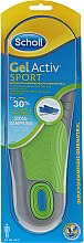 Düfte, Parfümerie und Kosmetik Komfortable Einlegesohlen für Männer - Scholl Gel Activ Insole Sport Men