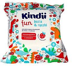 Düfte, Parfümerie und Kosmetik Feuchttücher für Kinder 25 St. - Kindii Fun