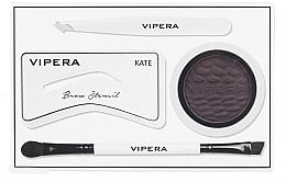 Düfte, Parfümerie und Kosmetik Augenbrauenset - Vipera Celebrity Eyebrow Definer Kit