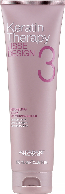 Haarcreme - Alfaparf Lisse Design Keratin Therapy Detangling Cream for Women