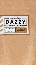 Düfte, Parfümerie und Kosmetik Gesichts- und Körperpeeling mit Kaffee und Schokolade - Dazzy Coffee Face & Body Scrub Coffee & Chocolate