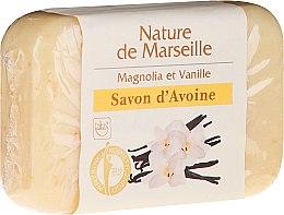 Düfte, Parfümerie und Kosmetik Haferseife mit Vanille und Magnolia - Nature de Marseille Soap