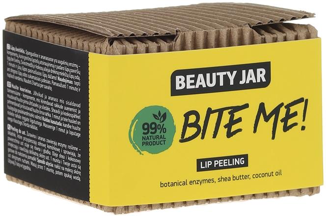 Lippenpeeling mit Kokosöl und Sheabutter - Beauty Jar Bete Me Lip Peeling