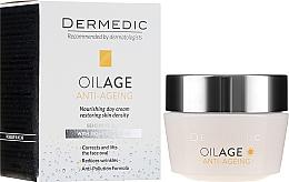 Düfte, Parfümerie und Kosmetik Anti-Aging Gesichtscreme mit Phytoöstrogenen - Dermedic Oilage Tri Oleum