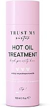 Düfte, Parfümerie und Kosmetik Haaröl mit Cannabisöl und Traubenkernöl - Trust My Sister High Porosity Hair Hot Oil Treatment