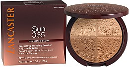 Düfte, Parfümerie und Kosmetik Bronze-Puder für das Gesicht SPF 10 - Lancaster 365 Sun Protecting Bronzing Face Powder SPF10 Adjustable Glow