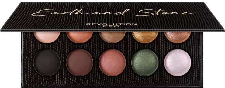 Lidschattenpalette mit 10 Farben - Makeup Revolution Pro Colour Focus Palette