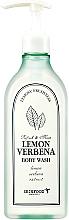 Düfte, Parfümerie und Kosmetik Erfrischendes und feuchtigkeitsspendendes Duschgel mit Zitronen- und Verbene-Extrakt - Skinfood Lemon Verbena Body Wash