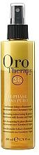 Düfte, Parfümerie und Kosmetik 2-Phasiges revitalisierendes Haarspülung-Spray mit Gold, Keratin und Argan - Fanola Oro Therapy