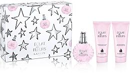 Düfte, Parfümerie und Kosmetik Lanvin Eclat de Fleurs Set - Duftset (Eau de Parfum 100ml + Duschgel 100ml + Körperbalsam 100ml)