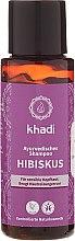 """Düfte, Parfümerie und Kosmetik Ayurvedisches Shampoo """"Hibiskus"""" - Khadi Hibiscus Shampoo"""