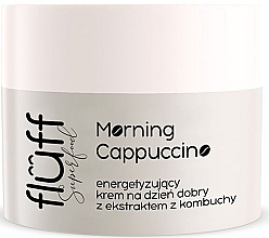 Düfte, Parfümerie und Kosmetik Anti-Aging Tagescreme für das Gesicht mit Kombucha und Kaffeeextrakt - Fluff Morning Cappuccino Day Face Cream