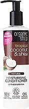 """Düfte, Parfümerie und Kosmetik Feuchtigkeitsspendende Haarspülung """"Kokos & Sheabutter"""" für trockenes und beschädigtes Haar - Organic Shop Coconut And Shea Conditioner"""