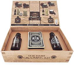Düfte, Parfümerie und Kosmetik Dear Barber Collection II Groom & Go - Duftset für Männer (Bartöl 30ml + Schnurrbartwachs 25ml + Eau de Toilette 30ml)