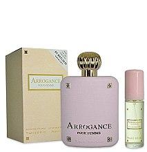 Düfte, Parfümerie und Kosmetik Arrogance Pour Femme - Duftset (Eau de Toilette 75ml+Eau de Toilette 30ml)