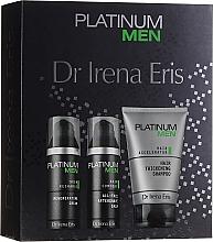 Düfte, Parfümerie und Kosmetik Pflegeset für Männer - Dr. Irena Eris Platinum Men (Shampoo 125ml + After Shave Balsam 50ml + Gesichtscreme 50ml)