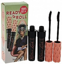 Düfte, Parfümerie und Kosmetik Benefit Ready To Roll Mascara Set - Make-up Set (Mascara 4gx2)