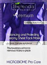 Düfte, Parfümerie und Kosmetik Balance Schutz-Gesichtsmaske - Bielenda Professional Balancing and Protectiveing Creamy Mask