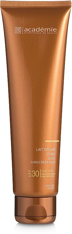 Sonnenschutzmilch für den Körper SPF 30 - Academie Bronzecran Body Sunscreen Milk High Protection — Bild N2