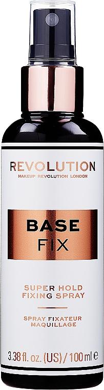 Make-up-Fixierer - Makeup Revolution Base Fix Super Hold Fixing Spray — Bild N1