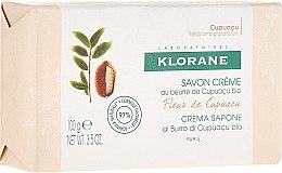 Düfte, Parfümerie und Kosmetik Cremeseife mit Bio Cupuaçubutter - Klorane Cupuacu Flower Cream Soap