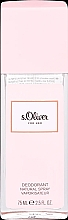 Düfte, Parfümerie und Kosmetik S.Oliver For Her - Parfümierter Körpernebel