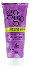 Düfte, Parfümerie und Kosmetik Regenerierende Haarmaske - Kallos Cosmetics Gogo Repair Conditioner For Dry Hair