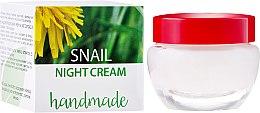 Düfte, Parfümerie und Kosmetik Nachtcreme mit Schneckenschleim-Extrakt - Hristina Cosmetics Handmade Snail Night Cream