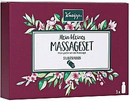 Düfte, Parfümerie und Kosmetik Körperpflegeset für Massage - Kneipp Massage Set (Massageöl 3x20 ml)