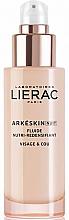 Düfte, Parfümerie und Kosmetik Pflegendes und regenerierendes Gesichtsfluid für die Nacht - Lierac Arkeskin Night Fluide Nutri-redensifiant