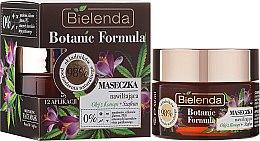Düfte, Parfümerie und Kosmetik Feuchtigkeitsspendende Crememaske - Bielenda Botanic Formula Hemp Oil + Saffron Moisturizing Mask