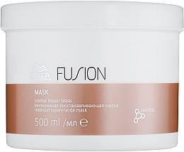 Düfte, Parfümerie und Kosmetik Intensive regenerierende Haarmaske - Wella Professionals Fusion Intense Repair Mask