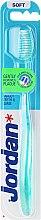 "Düfte, Parfümerie und Kosmetik Zahnbürste weich ""Target Teeth & Gums"" blau - Jordan Target Teeth & Gums Soft"