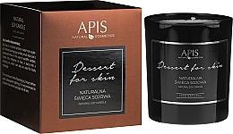 Düfte, Parfümerie und Kosmetik Natürliche Soja-Duftkerze - APIS Professional Dessert For Skin Candle