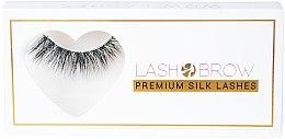Düfte, Parfümerie und Kosmetik Künstliche Wimpern - Lash Brow Premium Silk Lashes Wow Lashes