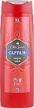 """Düfte, Parfümerie und Kosmetik 2in1 Duschgel & Shampoo """"Captain"""" - Old Spice Captain Shower Gel"""