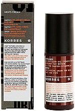 Düfte, Parfümerie und Kosmetik Anti-Aging Gesichtscreme für Männer - Korres Maple Anti-Ageing Face Cream