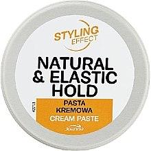 Düfte, Parfümerie und Kosmetik Cremige Haarpaste - Joanna Styling Effect Natural & Elactic Hold Cream Paste