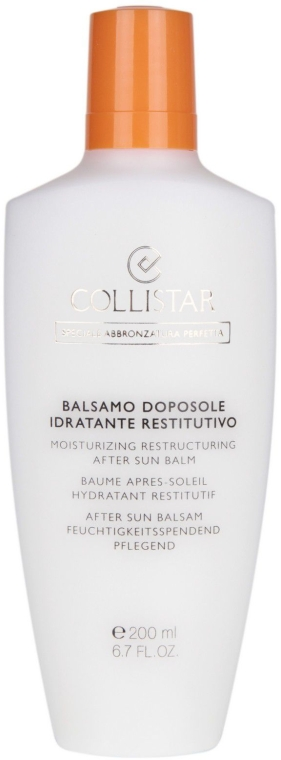 After Sun Körperbalsam - Collistar Speciale Abbronzatura Perfetta Balsamo Doposole Idratante Restituivo — Bild N1