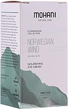 Düfte, Parfümerie und Kosmetik Pflegende Augencreme für trockene Haut - Mohani Natural Care Norwegian Wind Nourishing Eye Cream
