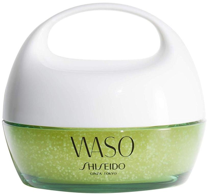 Feuchtigkeitsspendende Gesichtsgel-Maske für die Nacht mit Yuzu - Shiseido Waso Beauty Sleeping Mask